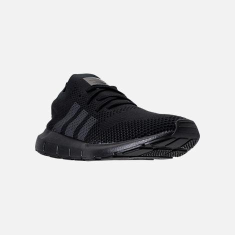 Adidas Swift Run PK Mens CQ2893 Black Grey Primeknit Running Shoes Size 13