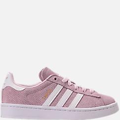 Girls' Grade School adidas Campus adicolor Casual Shoes