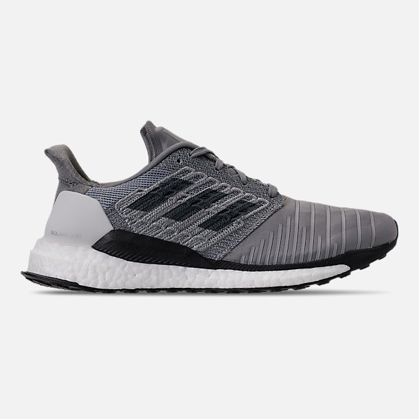 c9c785db436646 Right view of Men s adidas SolarBOOST Running Shoes in Grey Bold Onix