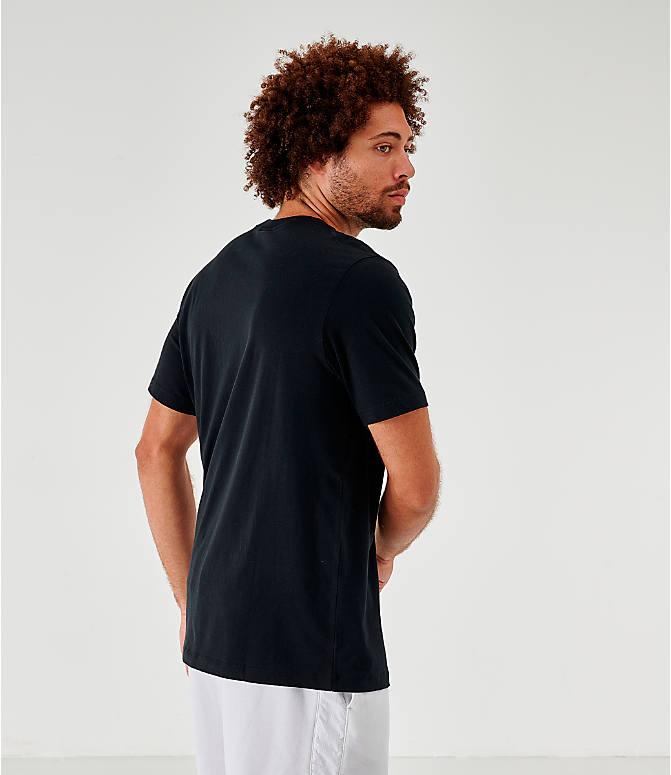Back Left view of Men's Nike Sportswear Game Changer T-Shirt in Black