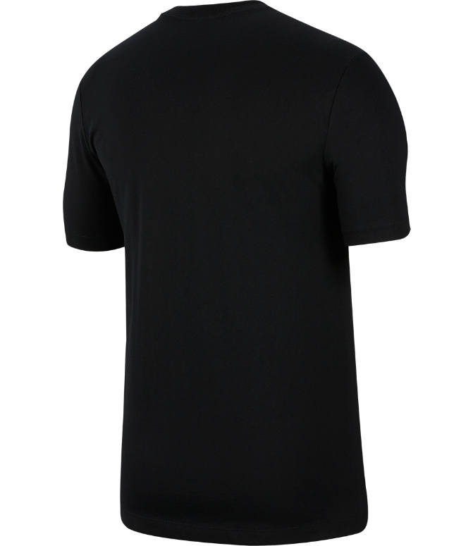 Back view of Men's Nike Sportswear Game Changer T-Shirt in Black