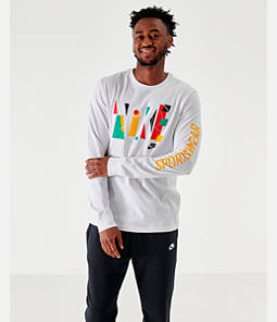 Men's Nike Sportswear Game Changer Long-Sleeve T-Shirt