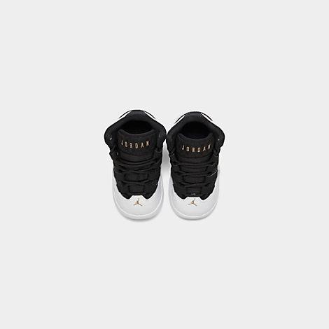 Boys/' Toddler Jordan Max Aura Basketball Shoes White//Metallic Gold//Black CQ9600
