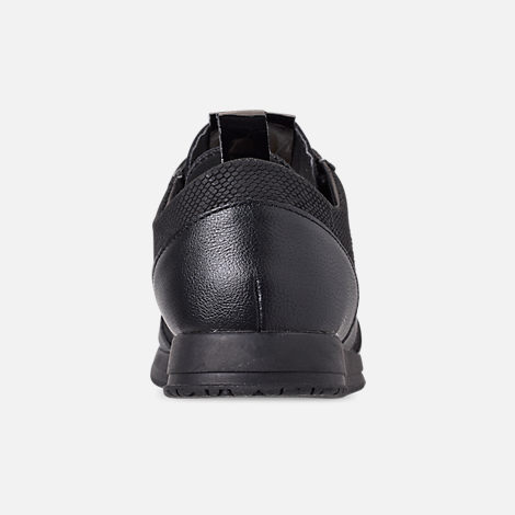 Back view of Men's Creative Recreation Junction Premium Casual Shoes in Black