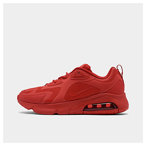 Nike Women's Air Max 200 Casual Shoes In Red