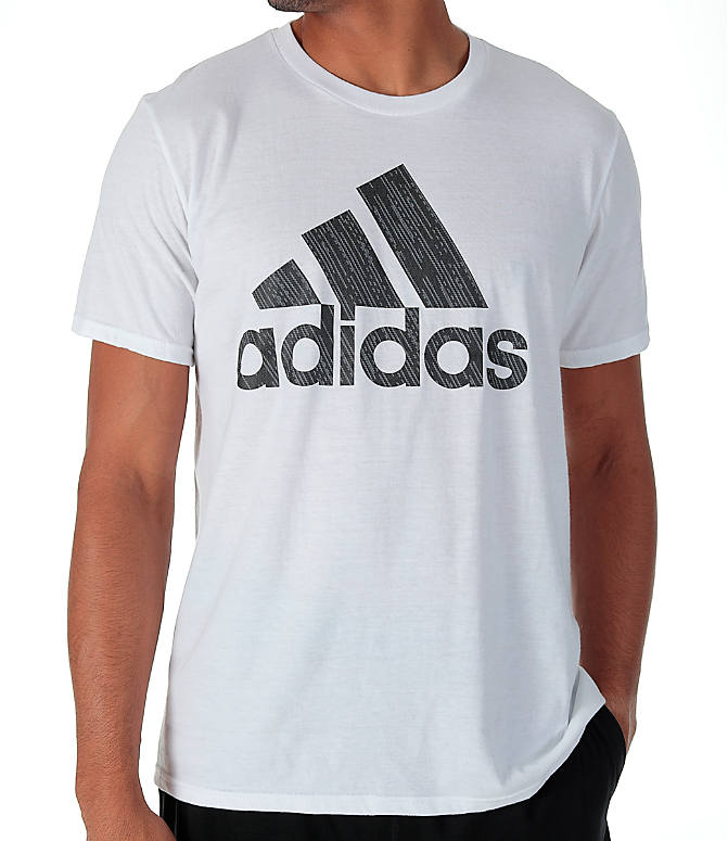 Detail 1 view of Men's adidas Badge of Sport Boost T-Shirt in White/Grey