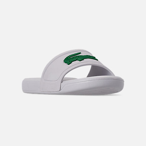 322b9770083d Three Quarter view of Boys  Little Kids  Lacoste L.30 Slide Sandals in