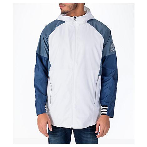 Adidas Originals  MEN'S ID WIND JACKET, WHITE