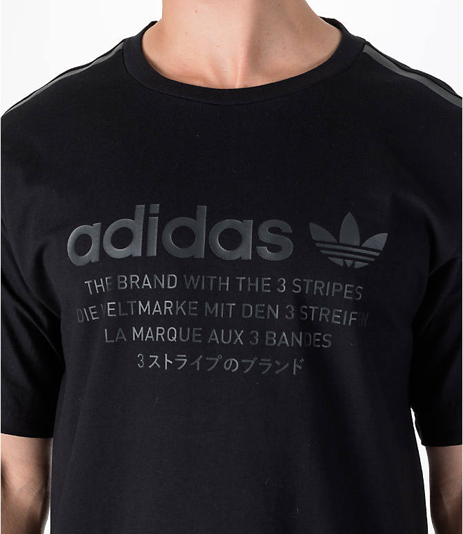 Detail 1 view of Men's adidas Originals NMD T-Shirt in Black