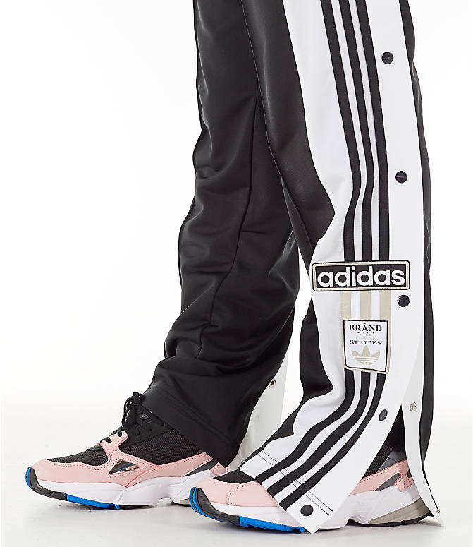 Detail 1 view of Women's adidas Originals AdiBreak Snap Track Pants in Black