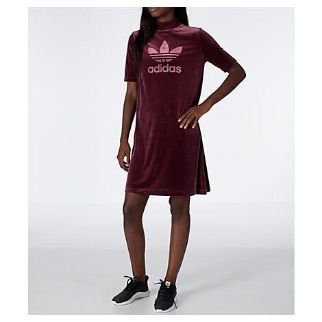 523639cc876a Adidas Originals Women S Originals Velvet Vibes Short Dress