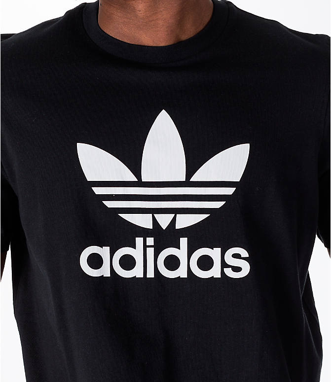 Detail 1 view of Men's adidas Originals adicolor OG T-Shirt in Black/White