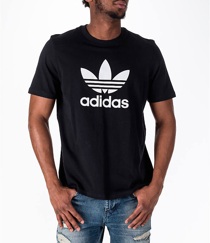Detail 2 view of Men's adidas Originals adicolor OG T-Shirt in Black/White