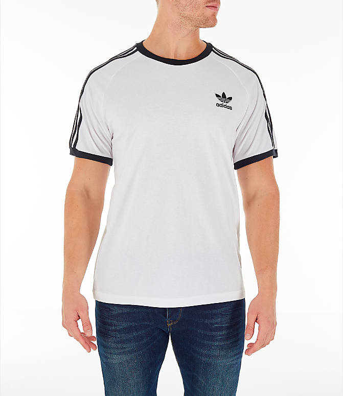 fresh styles size 40 hot products Men's adidas Originals adicolor 3-Stripe T-Shirt