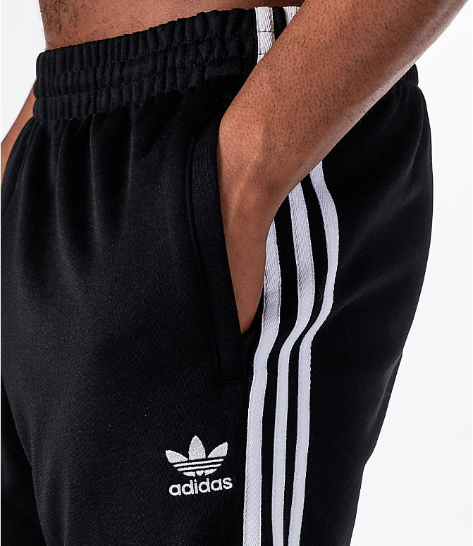 Detail 1 view of Men's adidas Originals adicolor Superstar Track Pants in Black