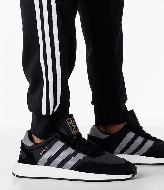 Detail 2 view of Men's adidas Originals adicolor Superstar Track Pants in Black