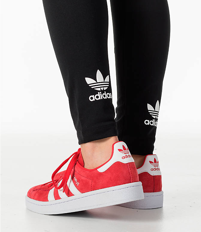 Detail 1 view of Women's adidas Originals Trefoil Leggings in Black