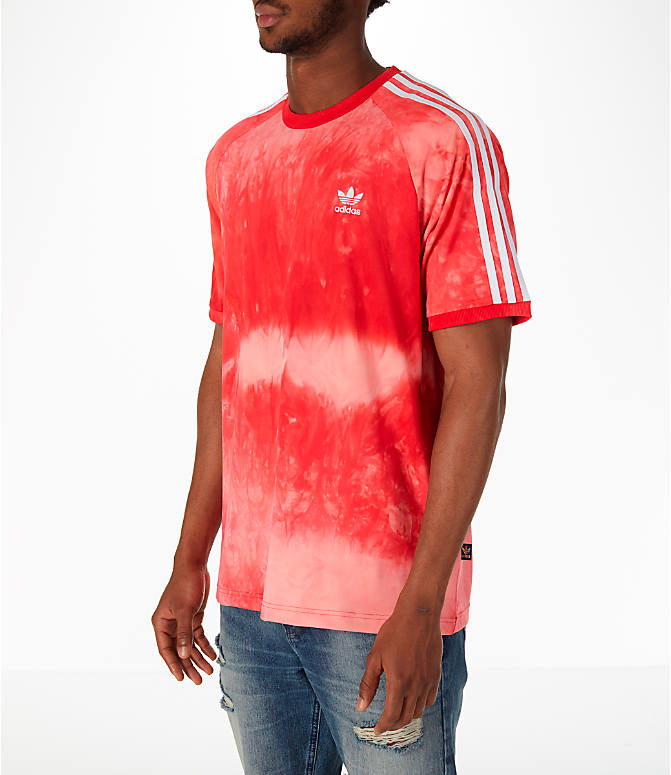 Front Three Quarter view of Men's adidas Originals Pharrell Williams HU Holi T-Shirt