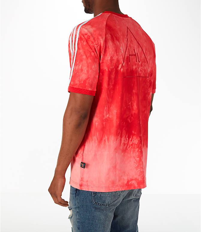 Back Left view of Men's adidas Originals Pharrell Williams HU Holi T-Shirt