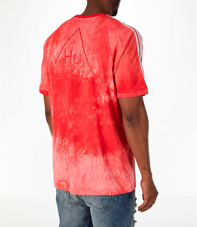 Back Right view of Men's adidas Originals Pharrell Williams HU Holi T-Shirt