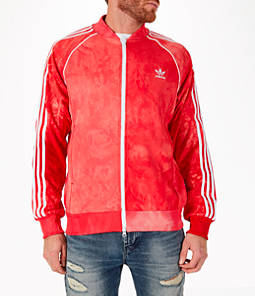 Men's adias Originals Pharrell Williams HU Holi Superstar Track Jacket