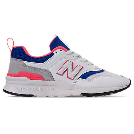 New Balance WOMEN'S 997 CASUAL SHOES, WHITE - SIZE 9.5