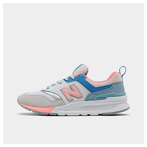 New Balance Shoes WOMEN'S 997 CASUAL SHOES, WHITE