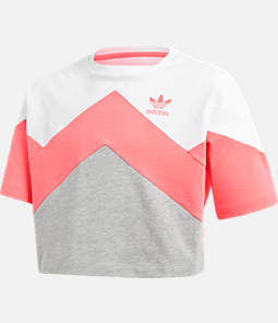 Girls' adidas Originals Cropped T-Shirt Product Image