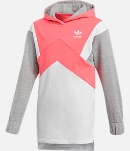 Girls' adidas Originals Trefoil Long-Sleeve Hoodie