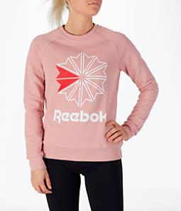 Women's Reebok Classics Starburst Crew Sweatshirt