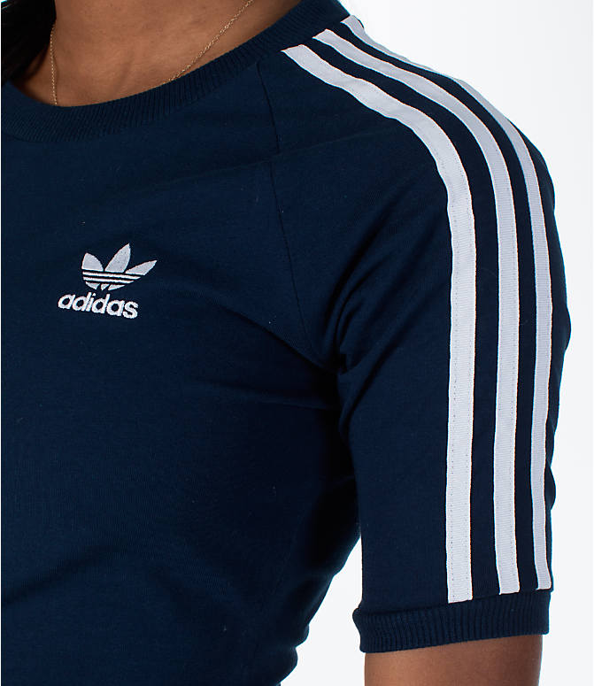 Detail 1 view of Women's adidas Originals 3-Stripes Dress in Navy/White