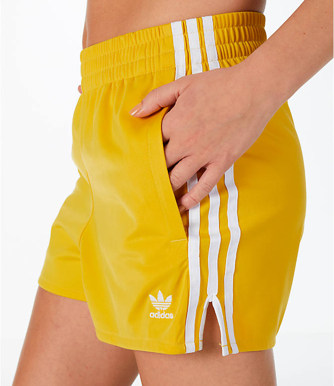 Detail 2 view of Women's adidas Originals 3-Stripes Shorts