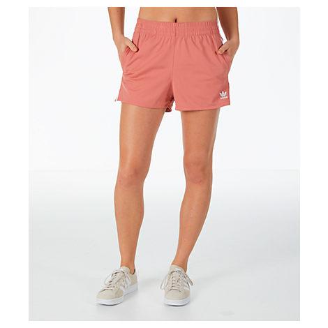 cdfc795f1 Adidas Originals Women's Originals 3-Stripes Shorts, Pink   ModeSens