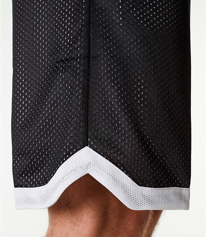 Detail 2 view of Men's adidas Sport Mesh Basketball Shorts in Black/White