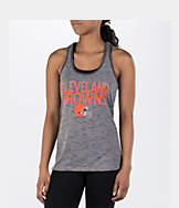 Women's College Concepts Cleveland Browns NFL Latitude Tank