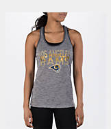 Women's College Concepts Los Angeles Rams NFL Latitude Tank