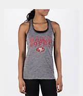 Women's College Concepts San Francisco 49ers NFL Latitude Tank