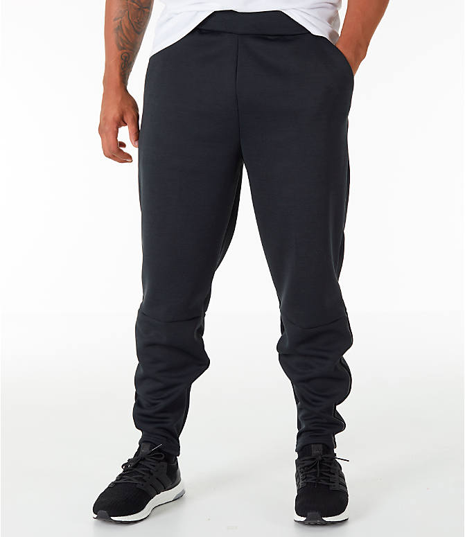 Front view of Men's adidas Z.N.E. Pants in Black