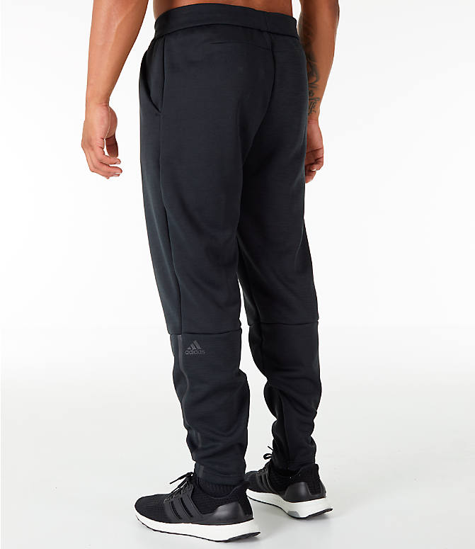 Back Left view of Men's adidas Z.N.E. Pants in Black
