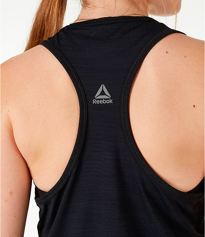 Detail 2 view of Women's Reebok Activchill Graphic Training Tank in Black