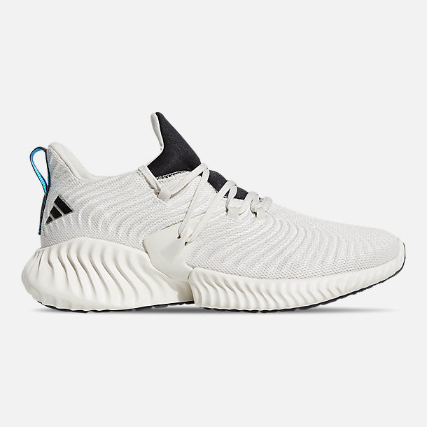 cheaper 99f25 724e9 Right view of Men s adidas AlphaBounce Instinct Running Shoes in Raw White Core  Black