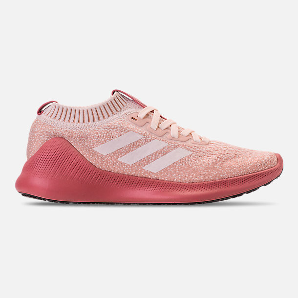 Right view of Women's adidas PureBounce+ Running Shoes in Cloud White/Trace Pink