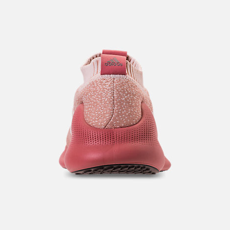 Back view of Women's adidas PureBounce+ Running Shoes in Cloud White/Trace Pink