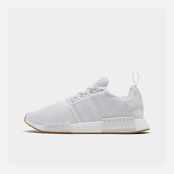 79e53da66 Right view of Men s adidas NMD R1 STLT Primeknit Casual Shoes in Footwear  White Footwear
