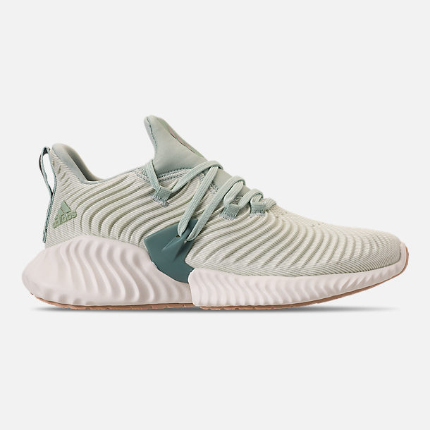 000b1d6bbe7 Right view of Women s adidas AlphaBounce Instinct Running Shoes in Ash Green Vapour  Grey