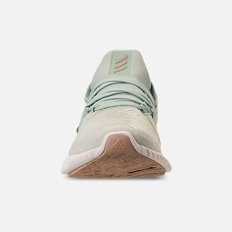 baf973a1458 Front view of Women s adidas AlphaBounce Instinct Running Shoes in Ash Green Vapour  Grey