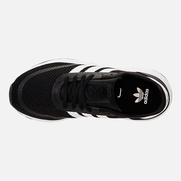 Top view of Boys' Big Kids' adidas N-5923 Casual Shoes in Core Black/Footwear White/Core Black
