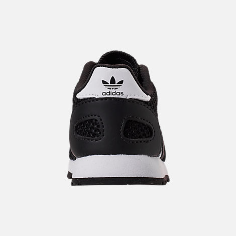 Back view of Boys' Toddler adidas N-5923 Casual Shoes in Core Black/Footwear White/Core Black