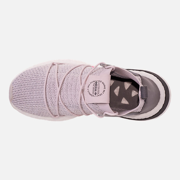 Top view of Women's adidas Originals Arkyn Primeknit Casual Shoes in Orchid Tint/Grey