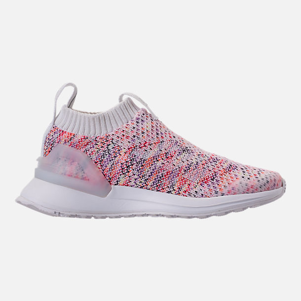 quite nice 95e52 8f205 Right view of Little Kids  adidas RapidaRun Laceless Knit Running Shoes in  Footwear White